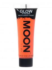 Fluo oranje fosforescerende gel voor lichaam en gezicht
