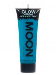 Fosforescerende blauwe gel voor lichaam en gezicht