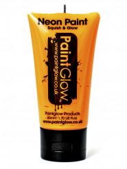UV fluo oranje gel voor gezicht en lichaam