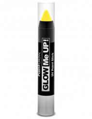 Fluo geel UV schminkpotlood