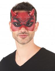 Latex duivel masker voor volwassenen