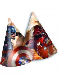 6 Feesthoedjes van Avengers Civil War™