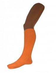 Oranje kniekousen voor volwassenen