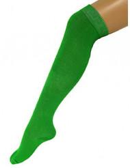 Groene kniekousen voor volwassenen