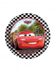 8 kartonnen Cars Formula™ borden