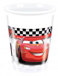 8 Plastic bekertjes van Cars Formula™