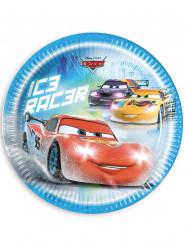 8 kartonnen Cars Ice™ borden