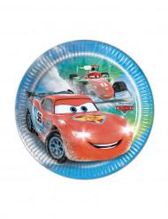 8 kartonnen Cars Ice Racers™ borden
