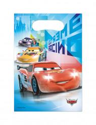 6 plastic Cars Ice™ cadeauzakken