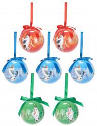 7 Olaf™ kerstballen 7.5 cm