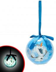 Lichtgevende Olaf™ kerstbal 7.5 cm