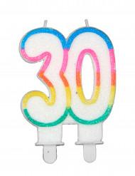 Verjaardagskaars 30 jaar