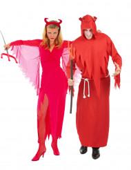 Rode duivel koppelkostuum