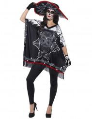Skelet Dia de los Muertos set voor volwassenen