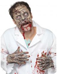 Zombie handen en masker voor volwassenen
