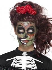 Día de los Muertos zombie schminkset voor vrouwen
