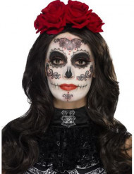 Día de los Muertos schminkset met accessoires