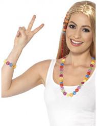 Hippie ketting en armband voor volwassenen