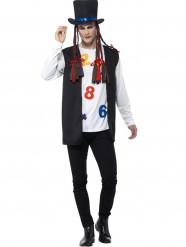 Jaren 80 popster kostuum voor mannen