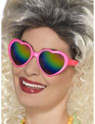 Harten bril met getinte glazen voor vrouwen