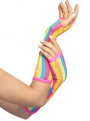 Regenboog handschoenen voor vrouwen