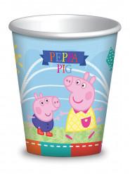 8 kartonnen Peppa Pig™ bekers