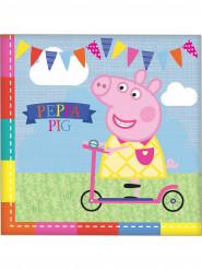 16 Peppa Pig™ servetten