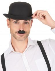 Zwarte Charlie Chaplin snor voor volwassenen