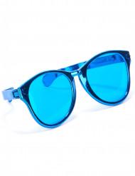 Enorme blauwe bril voor volwassenen