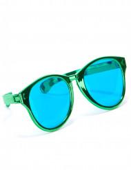 Enorme groene bril voor volwassenen