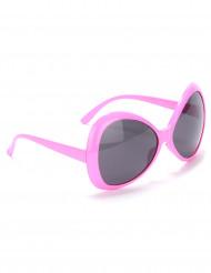 Roze discobril voor volwassenen