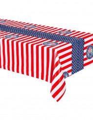 Plastic USA tafelkleed 130 x 180 cm