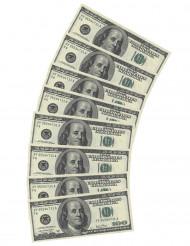 10 papieren servetten Dollar motief