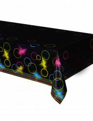 Plastic fluo tafelkleed - Glow Party