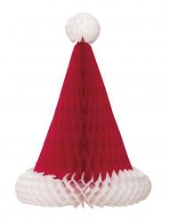 Kerstmuts tafeldecoratie 30 cm