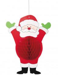 Kerstman hangdecoratie van papier