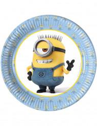 8 kleine kartonnen Minions™ borden