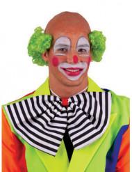 Groene kale clownspruik