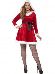 Rode kerstvrouw kostuum voor vrouwen