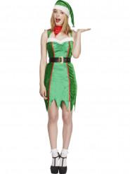 Sexy kerstelf kostuum voor vrouwen
