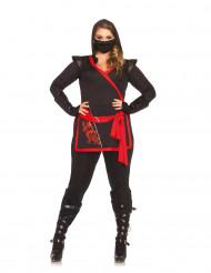 Ninja assassin kostuum voor vrouwen