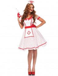 Retro verpleegster kostuum voor vrouwen
