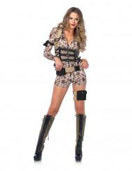 Sexy militair pixel kostuum voor vrouwen