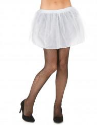 Witte tutu met ondoorzichtige onderrok voor vrouwen
