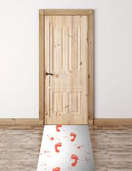 Bebloede deurmat
