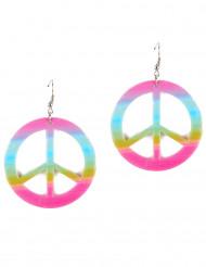 Peace & Love oorbellen voor volwassenen