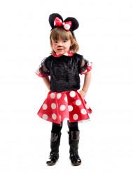 Zwart muizenkostuum voor meisjes