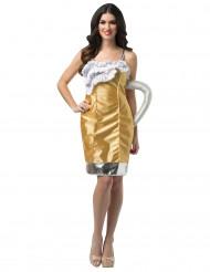 Bierglas kostuum voor vrouwen