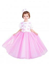 Roze prinsessen kostuum voor meisjes - Premium