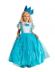 Blauwe prinsessen kostuum voor meisjes - Premium